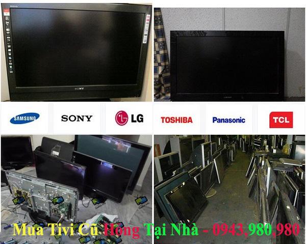 Mua tivi cũ hỏng tại nhà